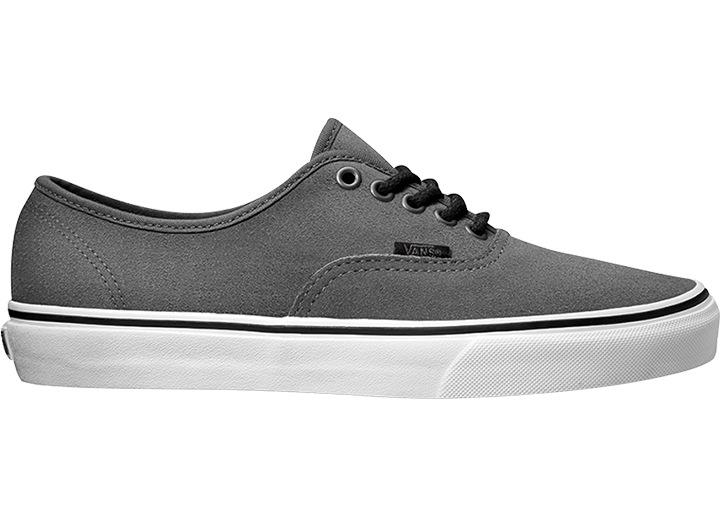 Vans sneaker AUTENTICO Texture Texture CAMOSCIO COLORE sentiero Grigio